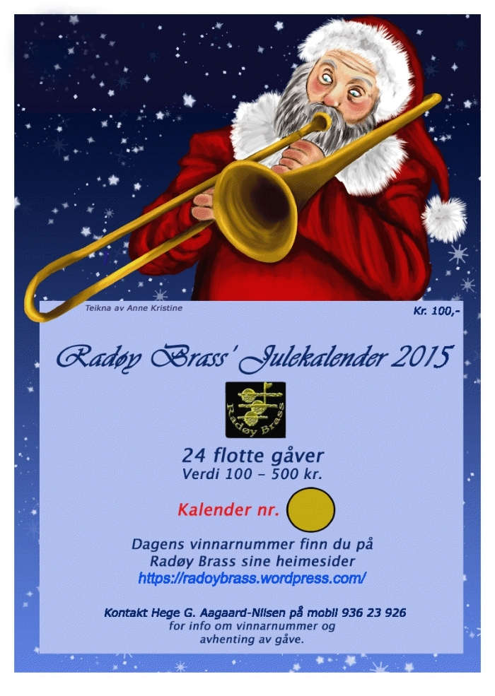 Radøy Brass julekalender 2015
